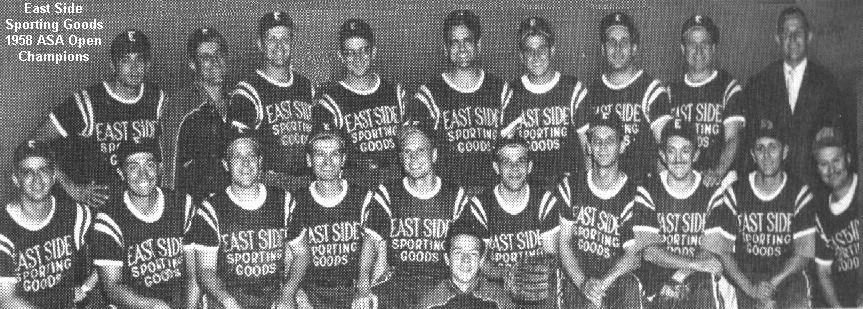 1958 Asa Open Men S Slow Pitch Nationals Softball