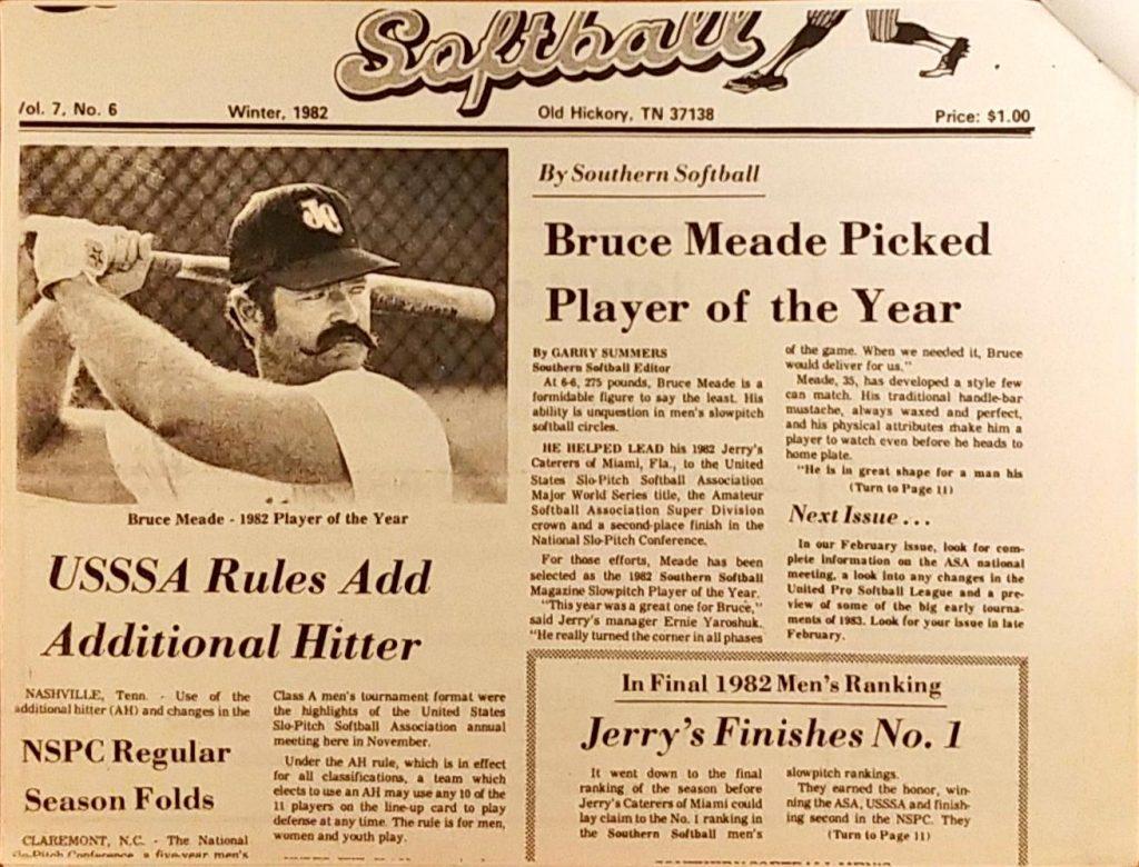 Players – Softball History USA